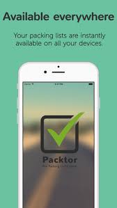 Packing Lists Packtor - Packing list creator on the App Store