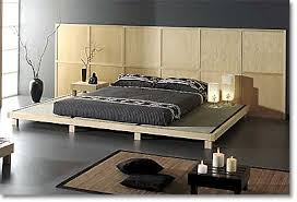 asian style bedroom furniture. tatami platform bed with geometric headboard asian style bedroom furniture t