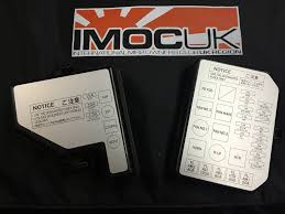 sw20 fuse box covers rear only imoc uk international mr2 sw20 fuse box covers rear only