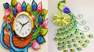 Beautiful Clock Designs Beautiful Peacock Wall Clock Designs Clock Designs Youtube