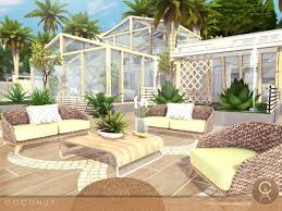 the sims resource coconut house by