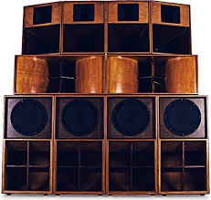 jamaican sound system speaker boxes. in the late 1940s, colombians and jamaicans simultaneously began building decorating massive sound systems throwing street dances playing imported jamaican system speaker boxes