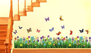 Small Picture Buy Decals Design Walking in the Garden Flower Wall Sticker PVC