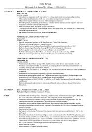 Clinical Laboratory Scientist Resume Sample Laboratory Scientist Resume Samples Velvet Jobs 2
