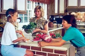 Family Kitchen Filefamily In A Kitchenjpg Wikimedia Commons