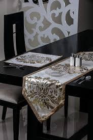 Designer Dining Table Mats Metallic Design Designer Series Fabric Table Mats World