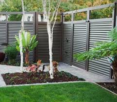corrugated metal fence. Delightful Backyard Metal Fence Pictures Design Best Ideas About Corrugated On Pinterest Sturdy Options