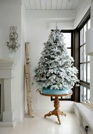 Flocked Christmas Tree 12 Of The Best Flocked Christmas Trees In Every Size Chris Loves