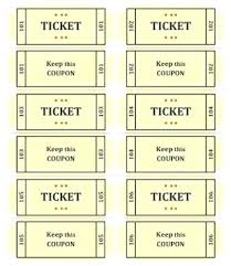 Make Free Tickets Free Raffle Ticket Templates Follow These Steps To Create