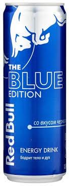 Купить <b>Энергетический напиток Red Bull</b> Blue edition черника ...