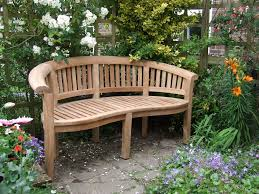 brilliant small outdoor wooden bench rustic garden regarding design 19