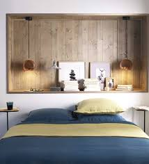 Bedroom Wall Box Niche Made Could Be Made From Gyprock With Optional Timber  Insert Or Leave As Gyprock For A More Subtle Look.