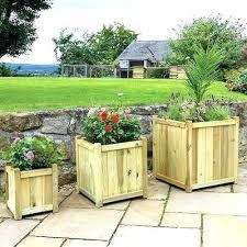 planter box with lattice trellis patio planter with trellis