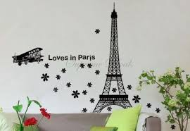 eiffel tower bathroom decor  art on walls home decorating glennaco