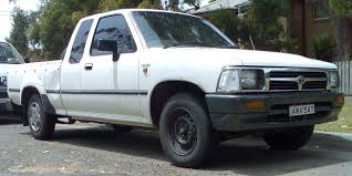 File:1994-1997 Toyota Hilux (RN90R) DX Xtra Cab 2-door utility 01 ...
