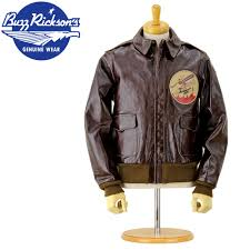 rickson buzz rickson s br80423 leather flight jacket type a 2