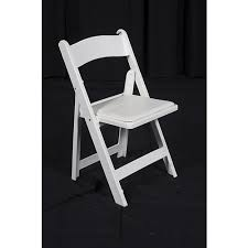 white wooden folding chairs al