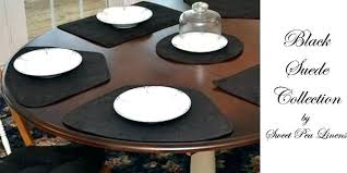 black round table mats for round table large size of contemporary for round round slate table black round table mats