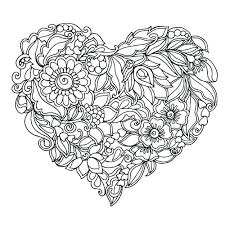 Images Of Coloring Pages Of Flowers Flower Printable Coloring Pages