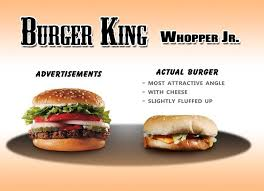 unthinkable nutrition facts label of whopper jr sandwich from burger king of improbable nutrition facts