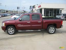 Deep Ruby Red Metallic 2009 Chevrolet Silverado 1500 LT Texas ...