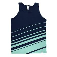 The Crooked Tank - Navy & Seaglass ...