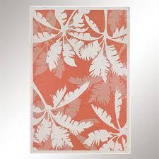 koa c tropical palm tree indoor outdoor rugs koa rectangle rug c