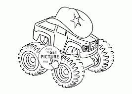 Starla From Blaze And The Monster Machines Coloring Page For Kids