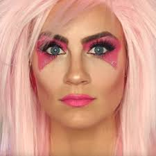 womens makeup photo 3 rock star makeup channel an 80s rockstar with this jem and the holograms costume 80 s