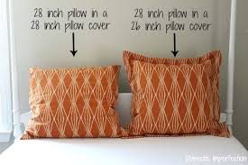What Size Insert For Pillow Cover
