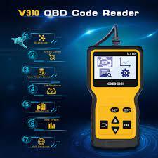 V310 okuma/açık hata kodu okuyucu tarama aracı OBDII/EOBD okuma DTC OBD 2  OBD2 araç teşhis otomatik aracı obd2 tarayıcı VS ELM327 V1.5|Code Readers &  Scan Tools