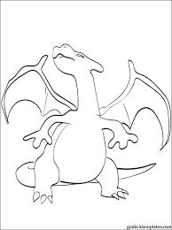 Pokémon Charizard Kleurplaat Voor Afdrukken Gratis Kleurplaten