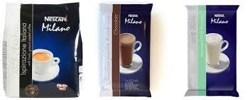 Hot Coffee Vending Machine Mesmerizing NESCAF Milano Coffee Vending Machine Refill Packs Hot Chocolate Milk