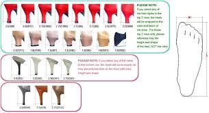 Coach Shoes Size Chart Foot Charts Measurement
