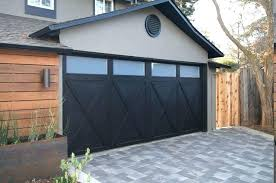 white house with black garage door black garage door elegant house with doors design for