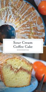 It also calls for cake flour which, if you're not familiar with it, results in a lighter and fluffier cake with a tender crumb. Sour Cream Coffee Cake Easy Coffee Cake Recipe With Streusel