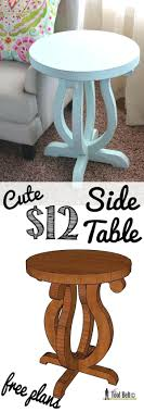Diy Pallet Side Table Plans With Storage Legs. Diy Pallet Side Table Plans  Outdoor Pinterest. Diy Side Table With Charging Station Bedside Ideas  Pallet ...