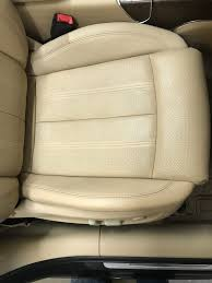 these are some leather car seat repairs we have done