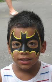 super hero face painting childrenspartiesnyc com kids face paint
