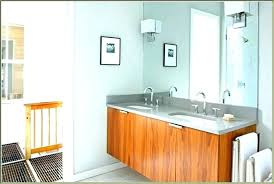 wall hung bathroom cabinet with mirror cabinets mount mounted outstanding marvelo