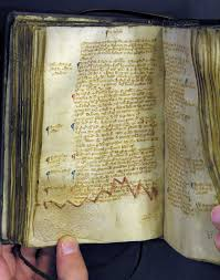magna carta mediaeval medieval hand written calligraphy and  the enlargements
