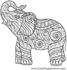 Baby Elephant Coloring Page Coloring Pages Elephants Elephant