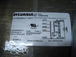 question about ballast kit and 240 volt anandtech forums here s a shot of the wiring diagram on the side of the transformer