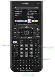keys used in this project ti nspire cx cas calculator tutorial 5 keys