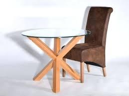 glass oak dining table glass top oak dining table solid oak round dining table round solid