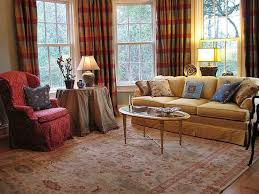 Living Room Furniture Used Good Living Room Using Used Furniture And Stripes Curtains And