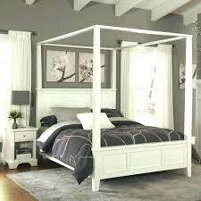white canopy bed full – florinbarbu.info
