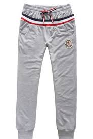 Moncler Men Lesure Pants Grey Moncler Coats NWJAf 354