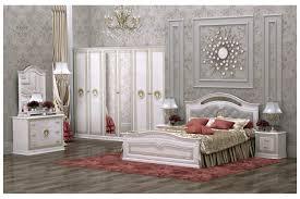 Italienisches Barock Schlafzimmer Medusa In Beige 6 Teilig