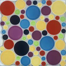 r97 pratt and larson tile multi size circles random r162 r987 r204 r101